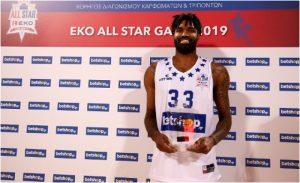 Octavius Elis, νικητής στα καρφώματα του All Star Game 2019